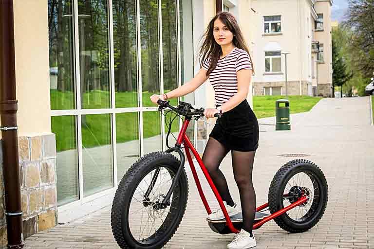 Half Bike, Half Scooter