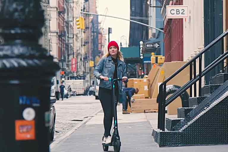Levy Electric Swappable-Battery Scooter