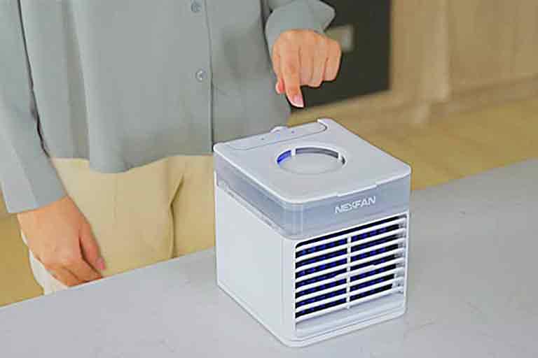 Portable AC With UV-C Sterilization