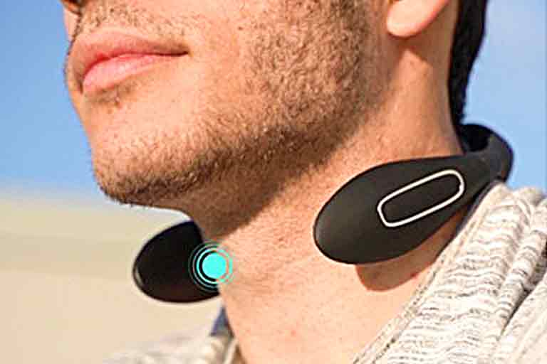 Portable Neck Muscle Massager and Warmer
