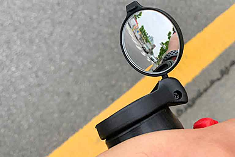 Rearview Cycling Mirror