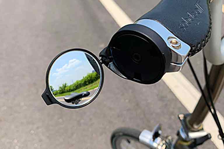 Universal Rearview Cycling Mirror