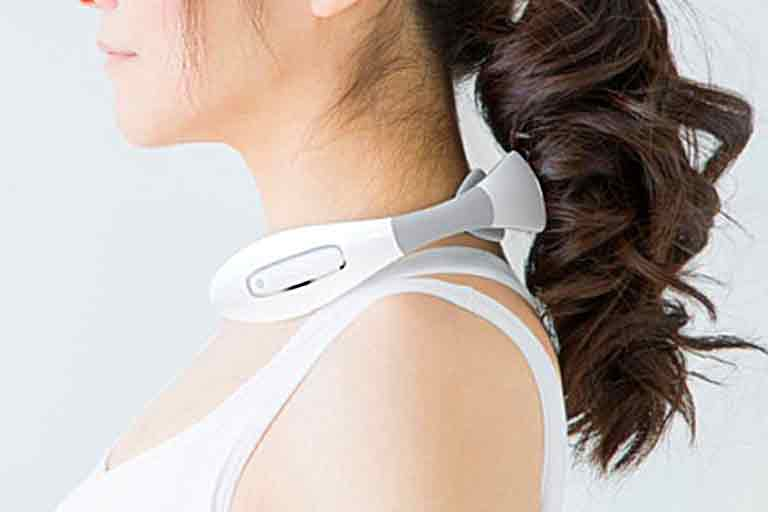 Wearable Neck Muscle Massager
