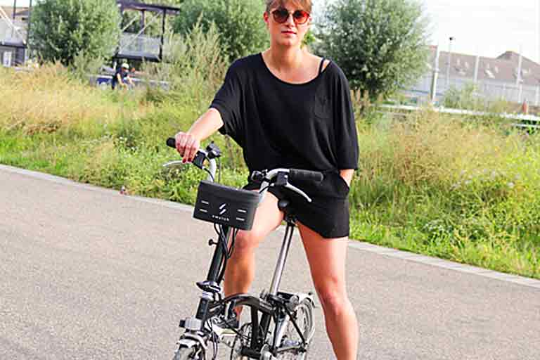 electric bicycle conversion setup