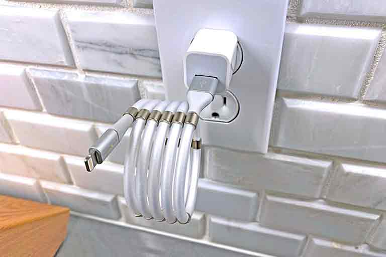 fidgeting charging cable
