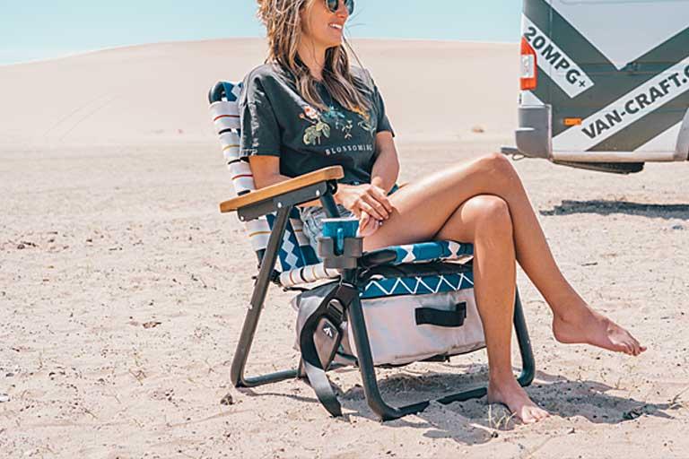 3-in-1 Lawn Chair For Post-Quarantine Beach Day!