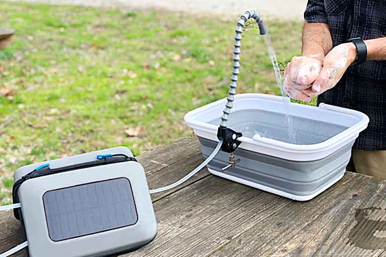 GoSun's solar-powered water purifier