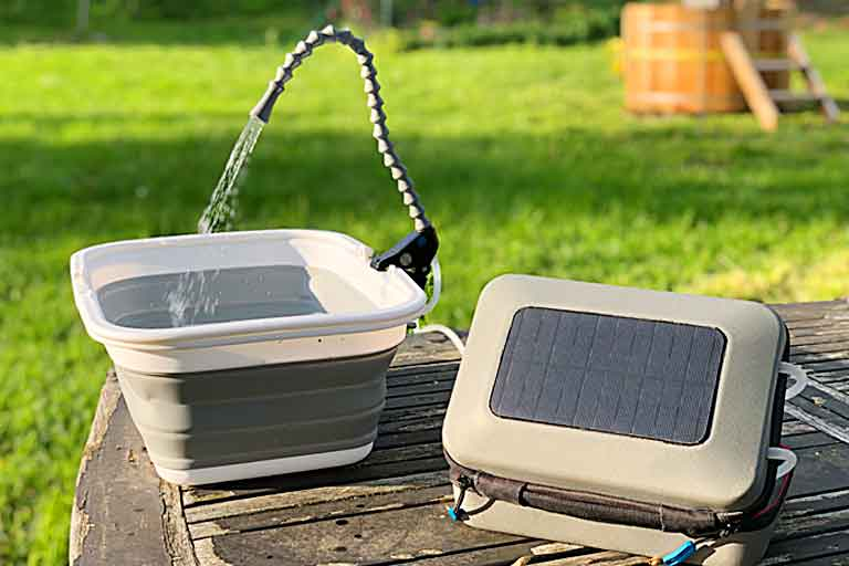 Solar-Powered Multi-Use Water Purifier