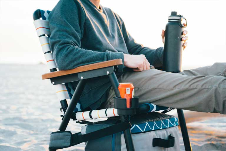 The Voyager lawn chair