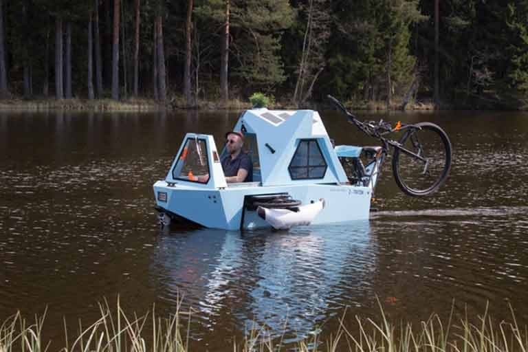 Floating Micro Camper