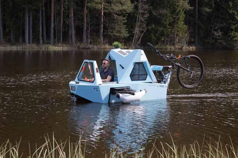 Floating Micro Camper