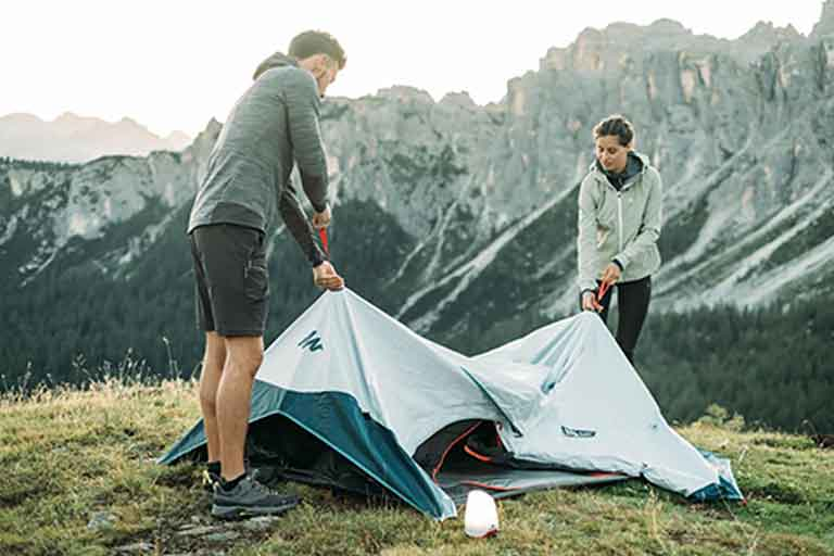 Setup a Tent With The Push of a Button