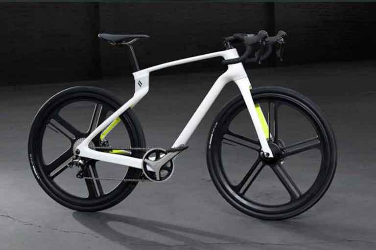 Superstrata Unibody Carbon Fiber Bicycle