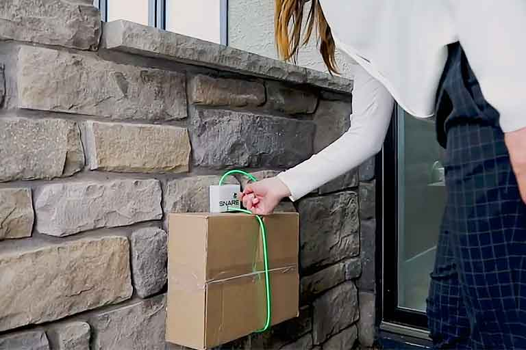 The Snare System Robs The Opportunities Of Porch Pirates