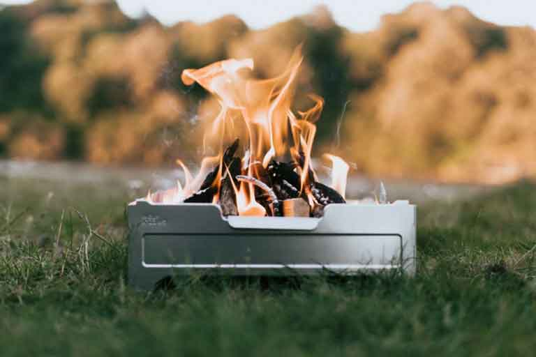 Cook System That Uses Campfire
