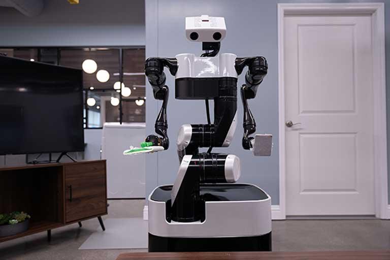 Toyotas robot butler prototype
