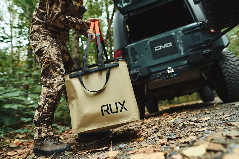 RUX is the new all-in-one system to pack, move, and use your valuable gear.