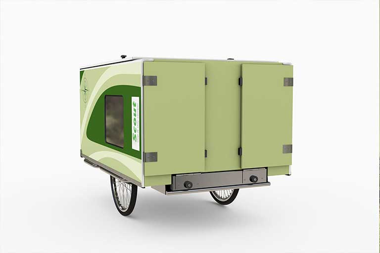 Scout E-bike Camper Trailer