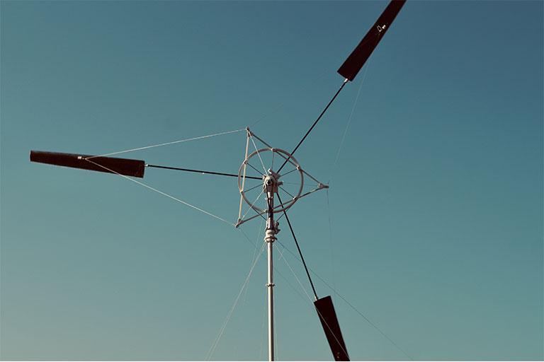 Portable Power Generating Wind Turbine Wind Catcher
