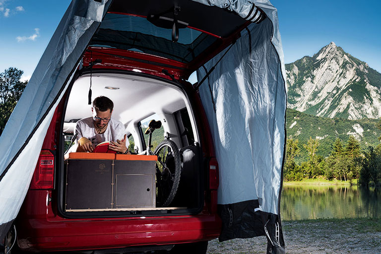 Turns Any Vehicle Into a MotorHome!