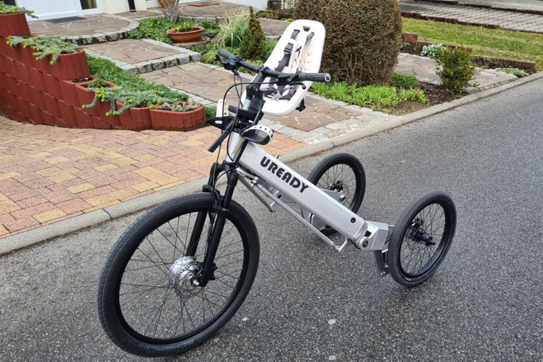 The Uready tilting electric trike