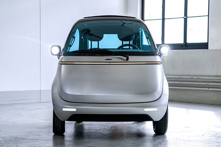 Microlino 2.0 | A Cute Electric Microcar Prototype With Improved Safety Features